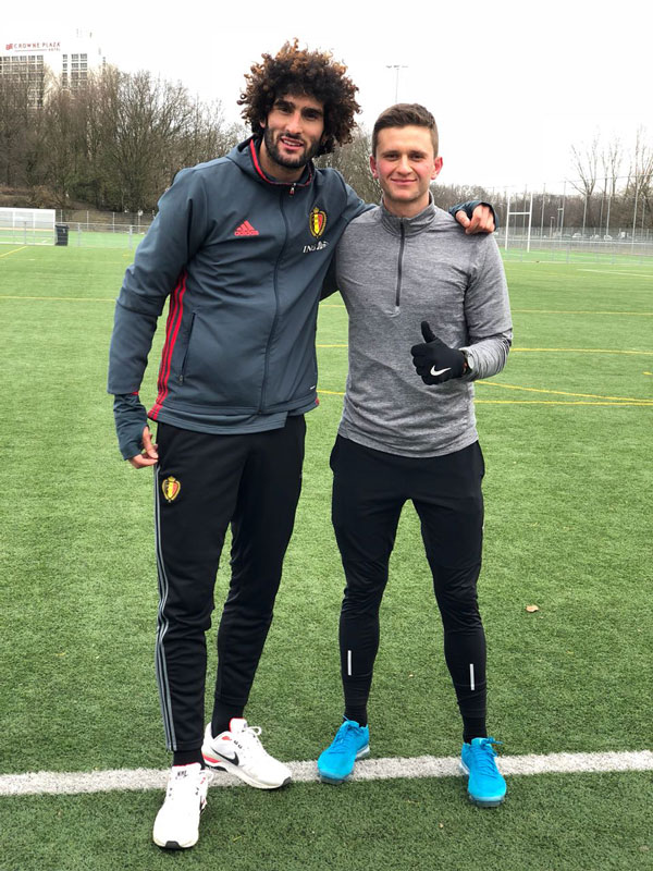 Marouane Fellaini - Moveaware